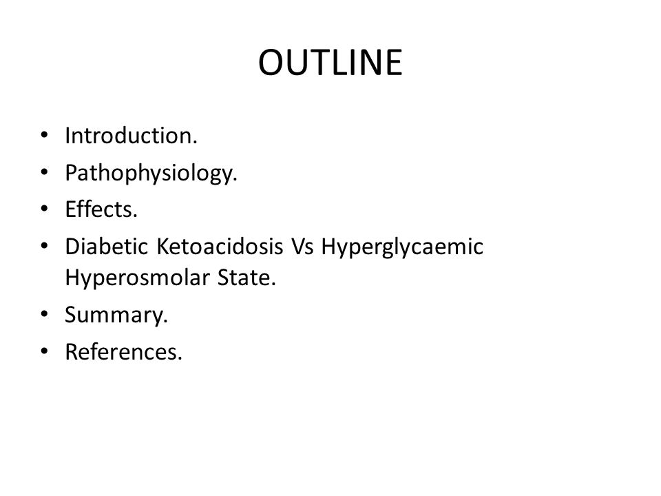 OUTLINE Introduction. Pathophysiology. Effects.