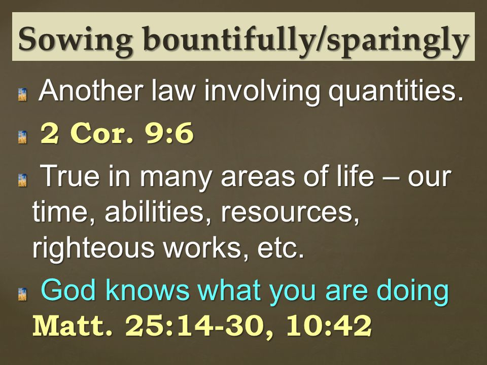 Another law involving quantities. Another law involving quantities.