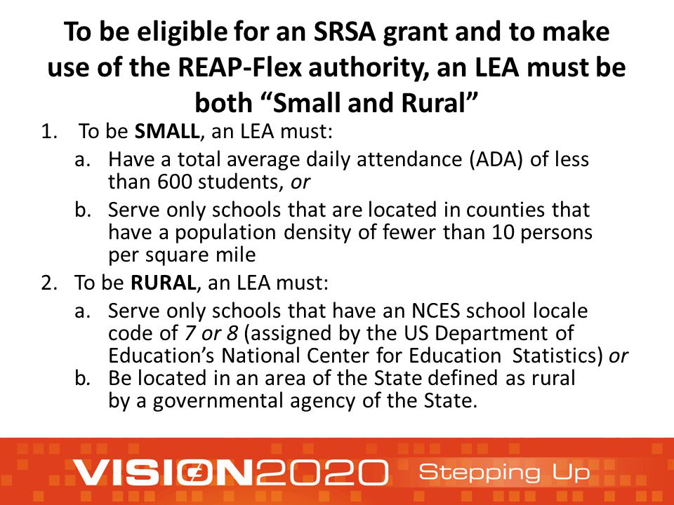 What is the Rural and Low-Income Schools Program.
