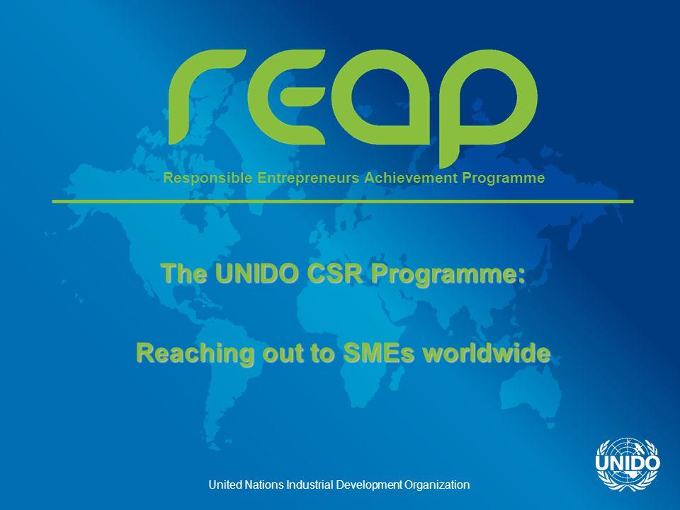 United Nations Industrial Development Organization 2.