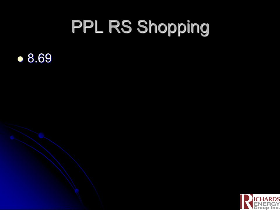 PPL RS Shopping 8.69 8.69