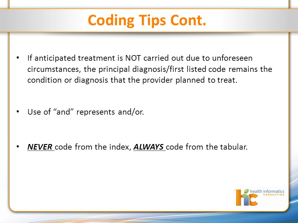 Coding Tips Cont.