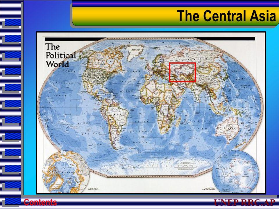 UNEP RRC.AP The Central Asia Contents