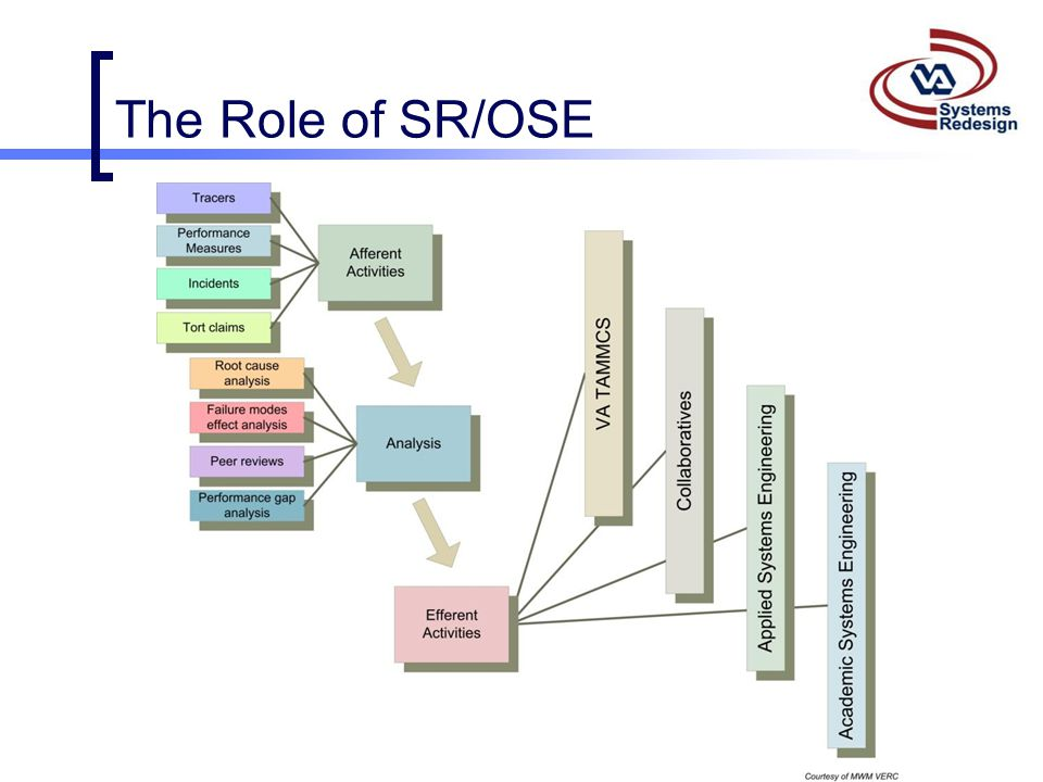 The Role of SR/OSE