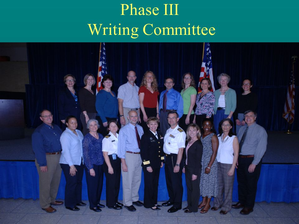 Phase III Writing Committee