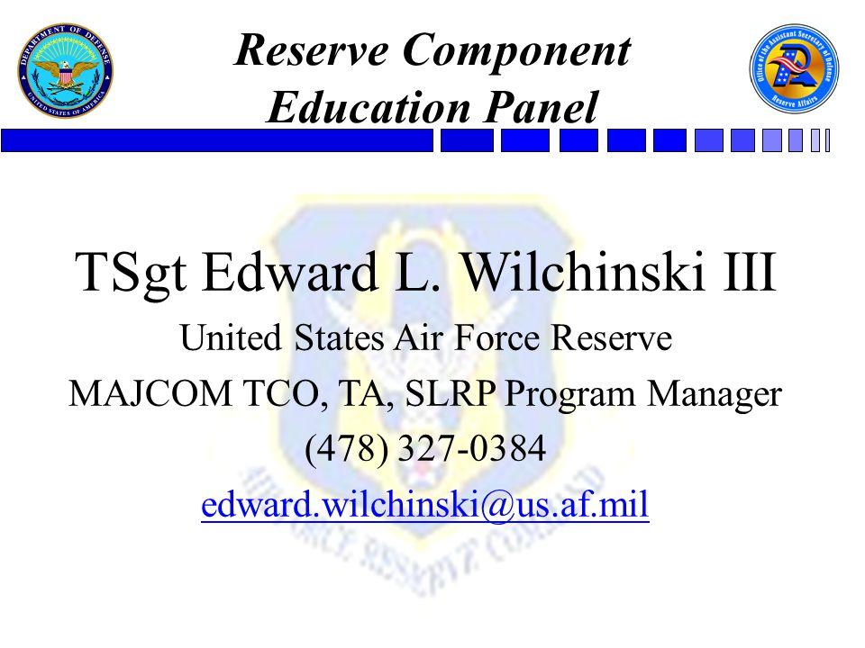 TSgt Edward L.