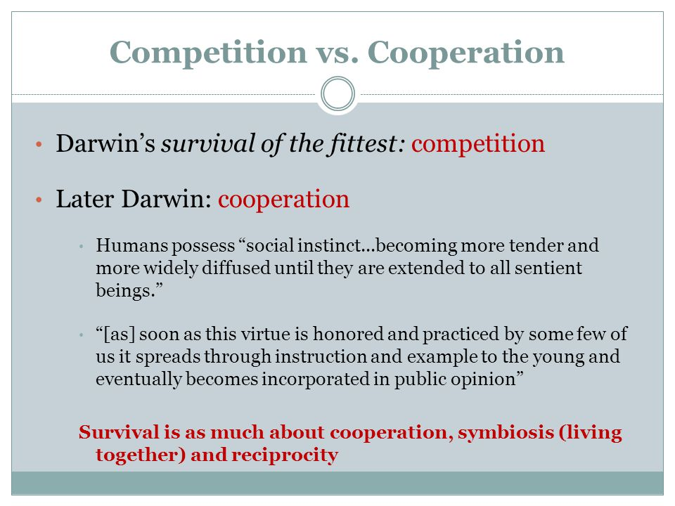 Competition vs.