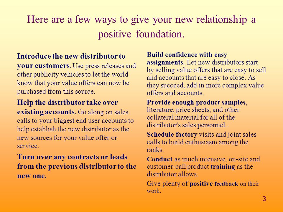 3 Here are a few ways to give your new relationship a positive foundation.