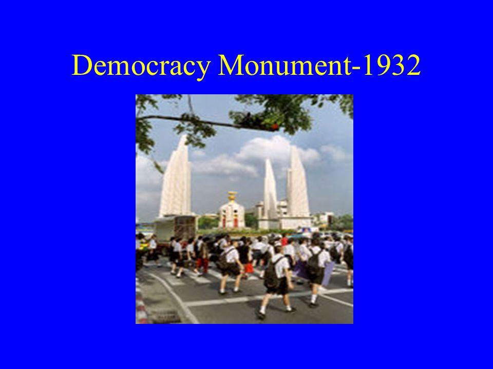 Democracy Monument-1932