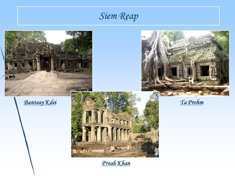 Siem Reap Banteay KdeiTa Prohm Preah Khan