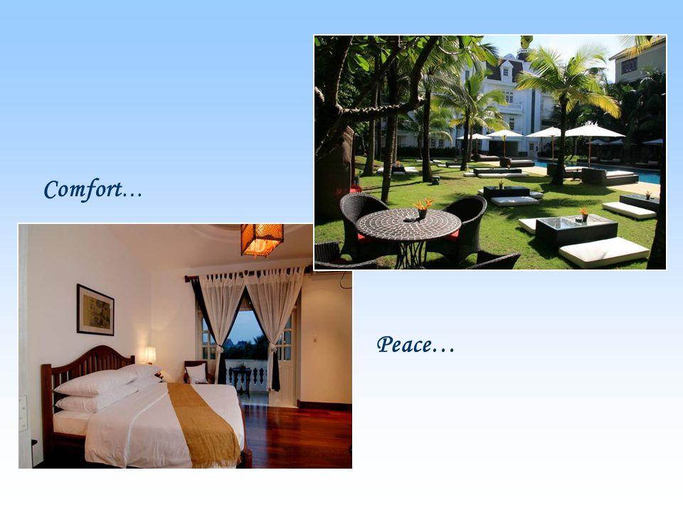 Comfort … Peace…