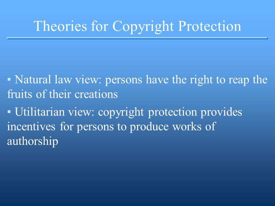 Sources of Copyright Law ▪U.S.Const. art. I, sec.