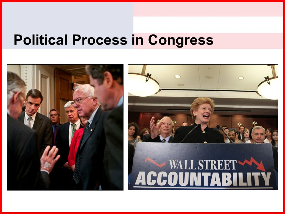 Political Process in Congress