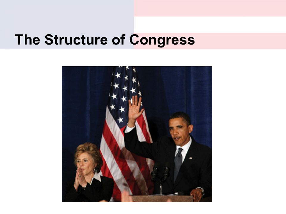 The Structure of Congress