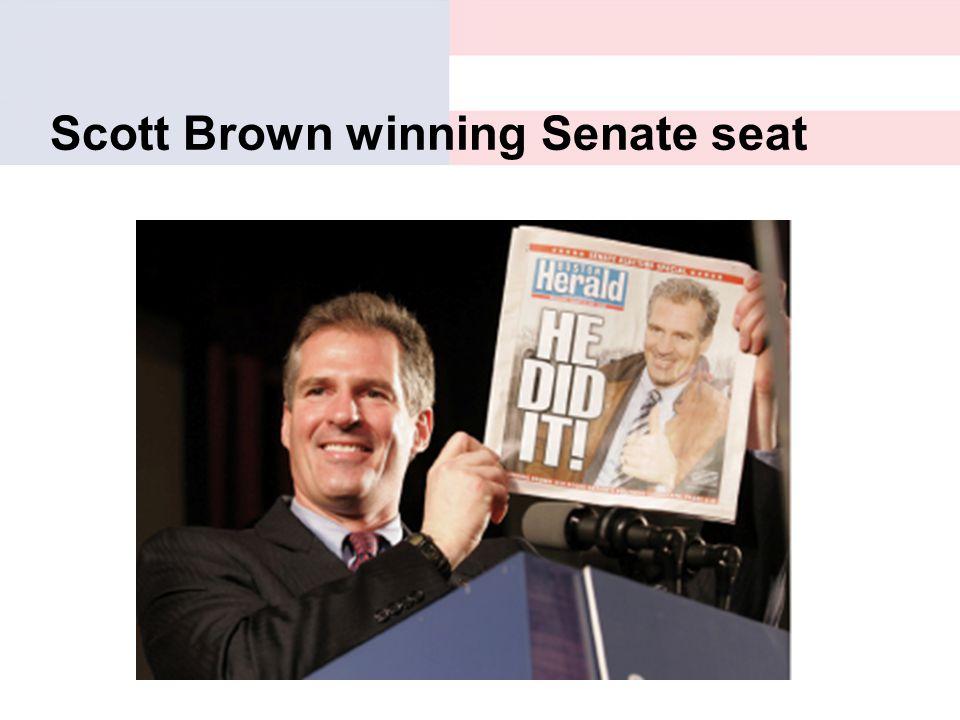 Scott Brown winning Senate seat