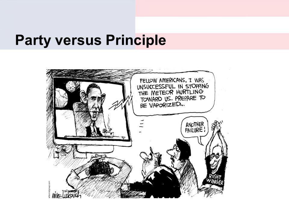 Party versus Principle