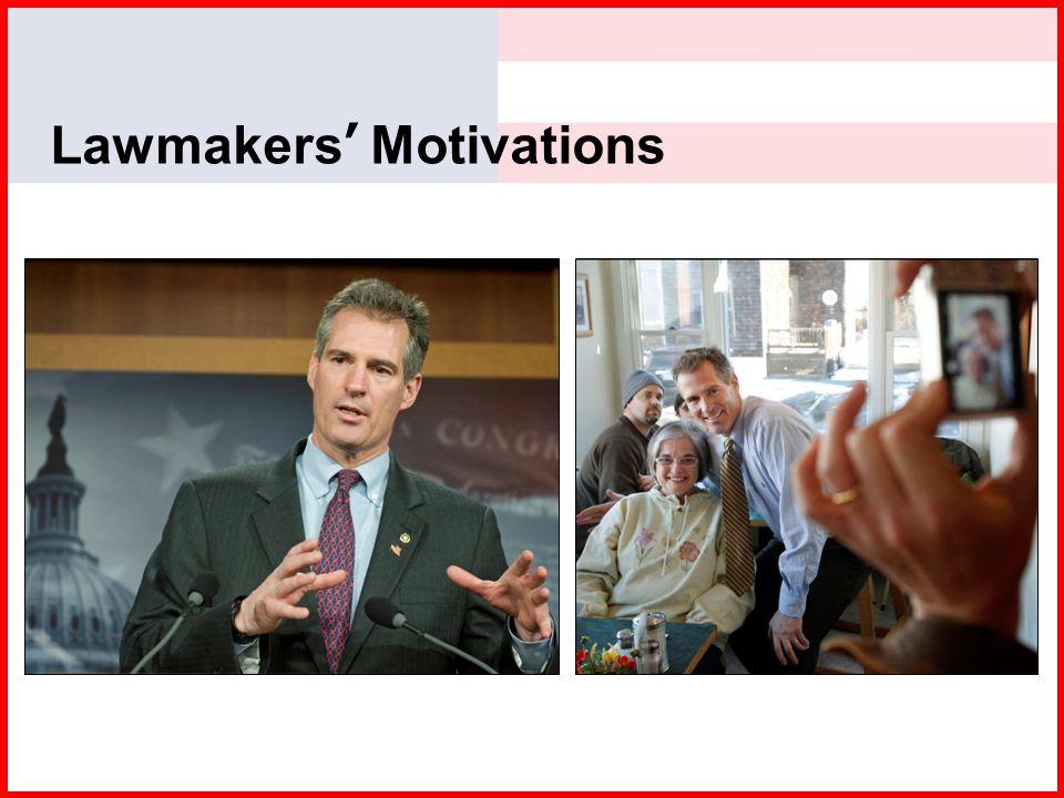 Lawmakers' Motivations