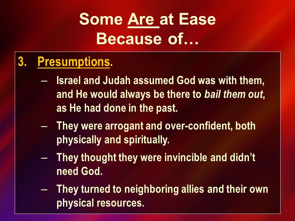 3.Presumptions.