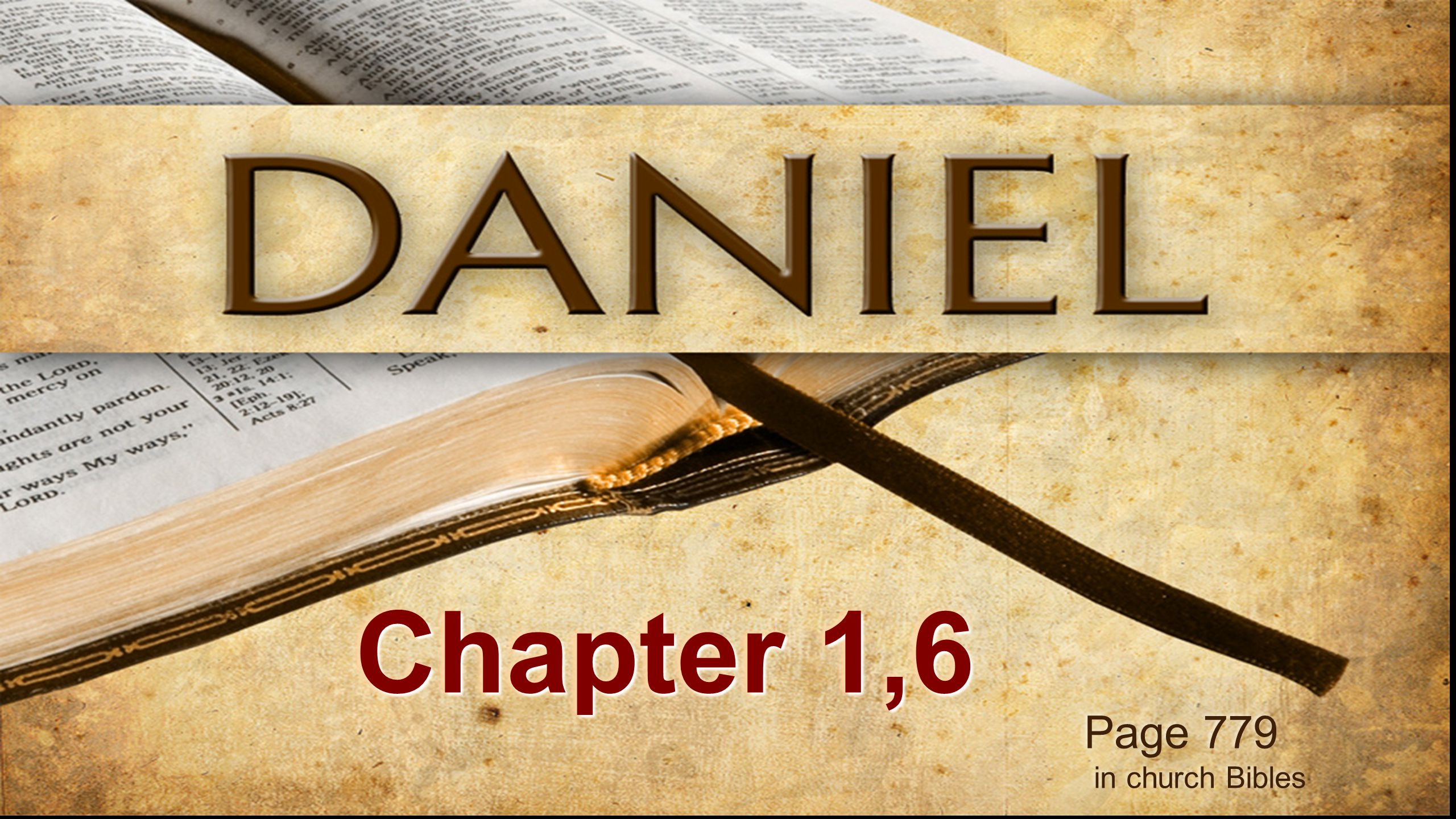 Page 779 in church Bibles Page 779 in church Bibles Chapter 1,6