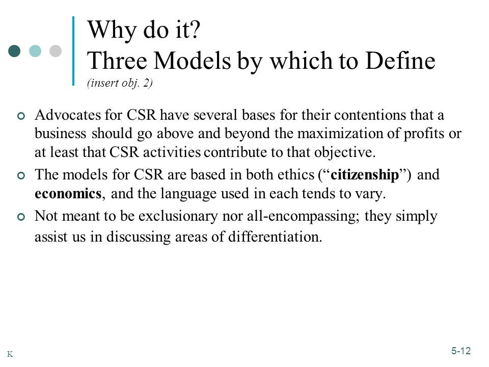 1-12 5-12 Why do it.Three Models by which to Define (insert obj.