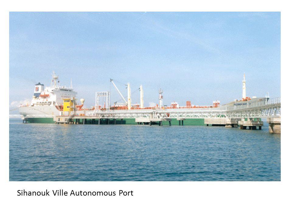 8 Other Ports in Cambodia Sihanoukville Port Sre Ambel Port Keo Phos Port (Oknha Mong Port ) Kampot PortMunicipal Port Stueng Hav Port Oil Terminal