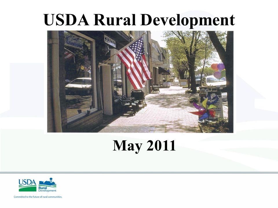 USDA Rural Development May 2011