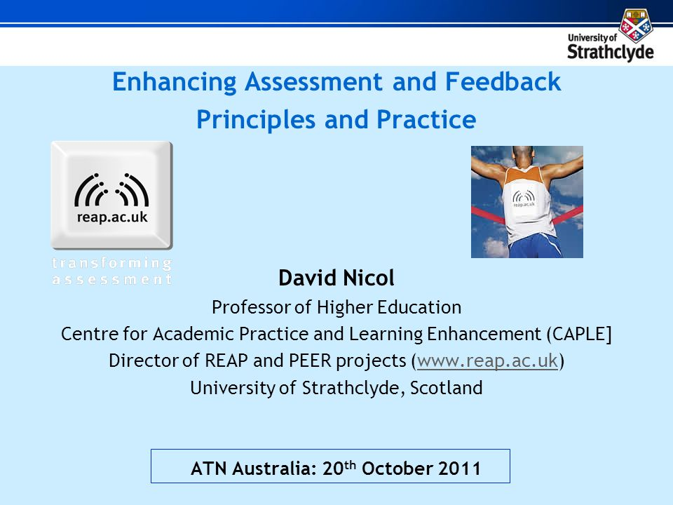 Benefits Students worked exceptionally hard Written responses of exceedingly high standard Students took responsibility for learning High levels of motivation: atmosphere in class improved Online interactions showed powerful 'scaffolding' and community building Feedback with 560 students through peer and self- feedback (model answers) Easy for tutors to monitor participation Improved mean exam performance (up from 51-59%, p<0.01) weaker students benefit most