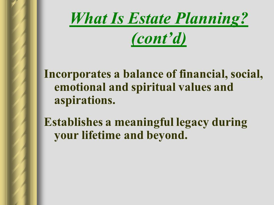 The Estate Planning Pyramid Me My Family My Wealth Protect Wealth Save Taxes Estate Plans that Work Focuses on Client Goals Solutions Make Planning Easier Exposes Traditional Planning as Upside Down
