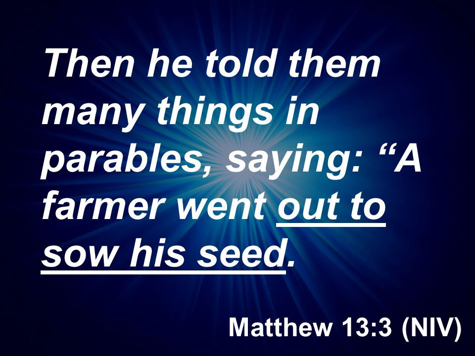 Ecclesiastes 11:4 (NCV) Those who wait for perfect weather will never plant seeds; and those who look at every cloud will never reap a harvest.