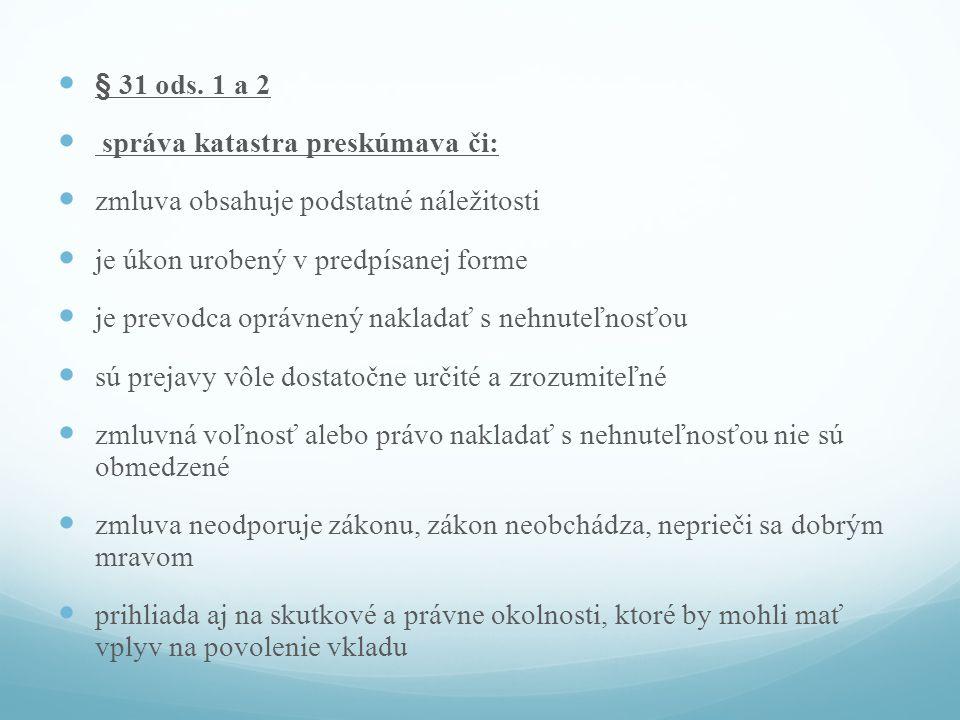 § 31 ods.