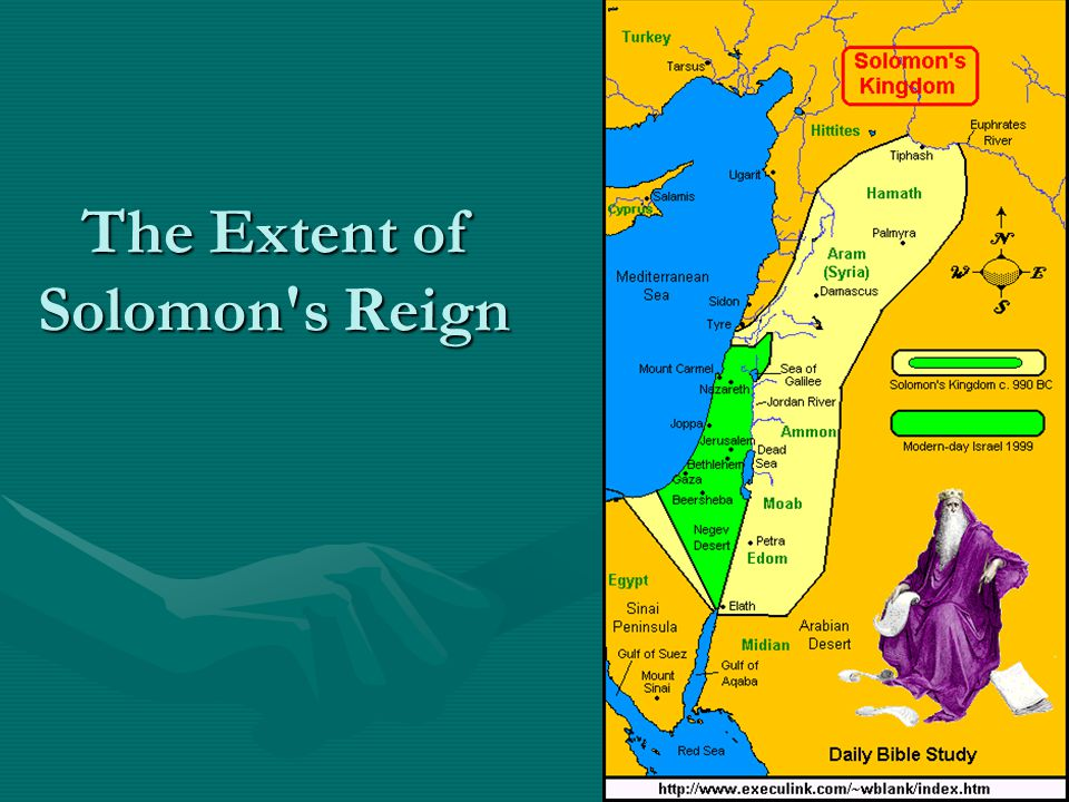 The Extent of Solomon's Reign
