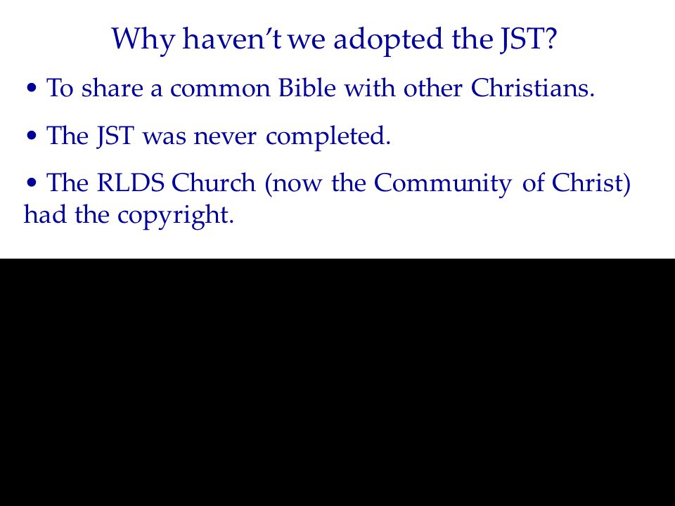 Is it OK to use other versions of the Bible?