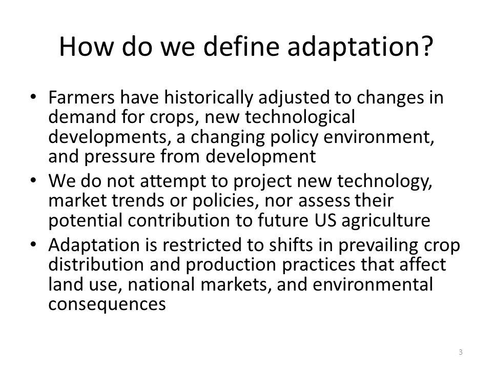 Regional Change from Adaptation Scenario Corn (ADD NATIONAL TOTALS) 24 ECH % CSIRO % CNR % MIROC %