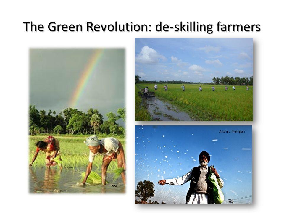 The Green Revolution: de-skilling farmers BBC Akshay Mahajan