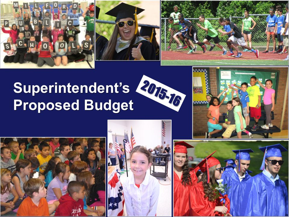 Superintendent's Proposed Budget 2015-16