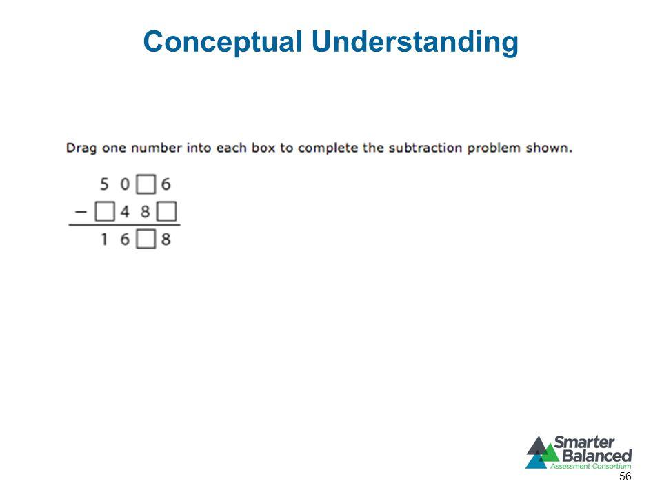 Conceptual Understanding 56