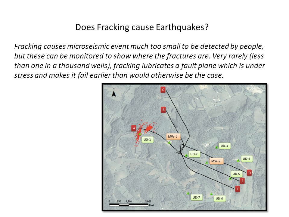 Does Fracking cause Earthquakes.