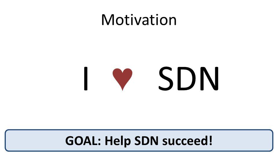 Benefits of Partial SDN Deployment? A B C D E F Harvest unutilized network capacity