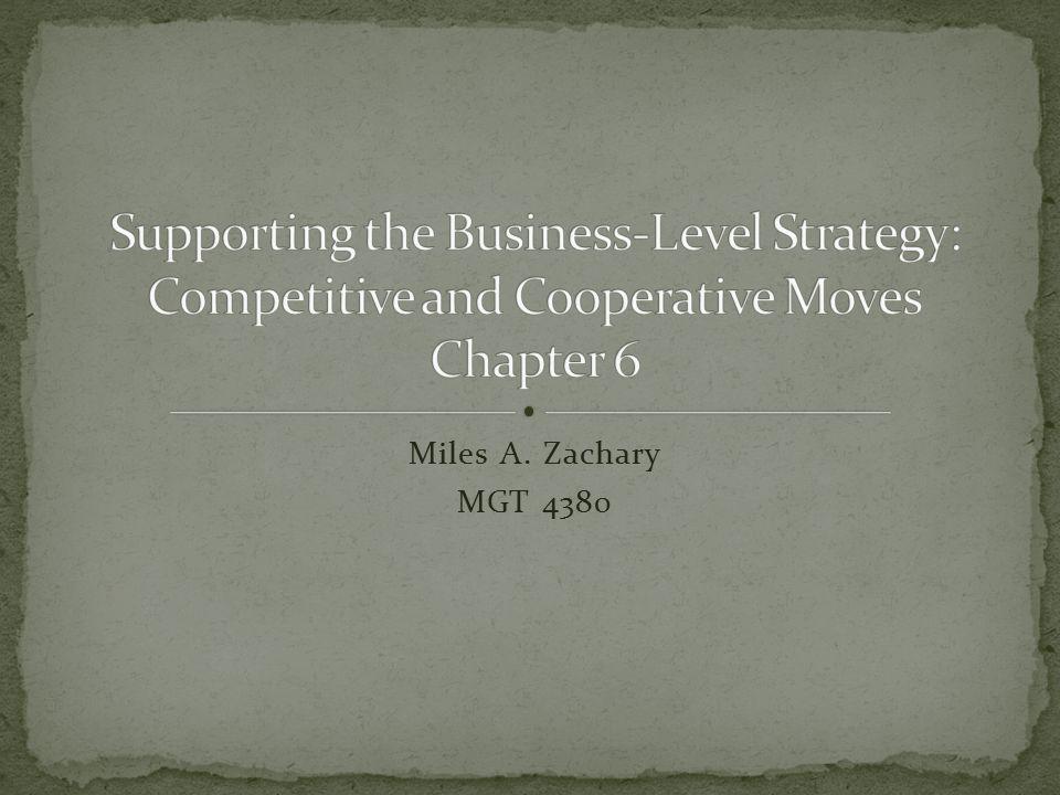 Miles A. Zachary MGT 4380