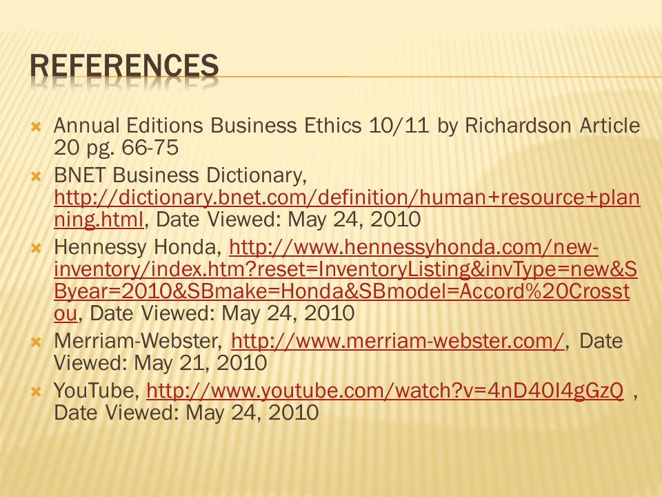  Annual Editions Business Ethics 10/11 by Richardson Article 20 pg.