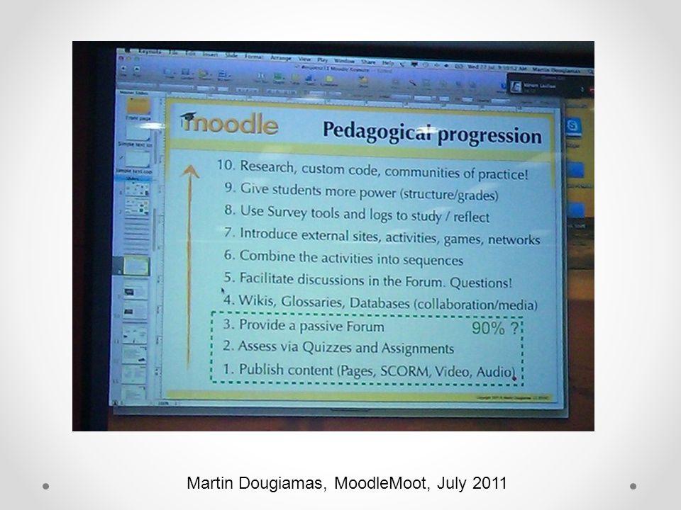 Martin Dougiamas, MoodleMoot, July 2011