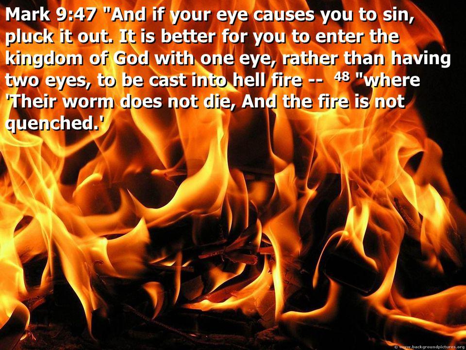 Mark 9:47