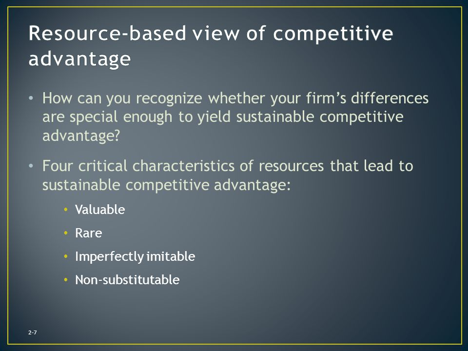 How are IT and competitive advantage related.