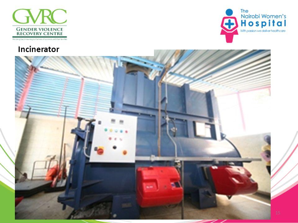 15 Incinerator