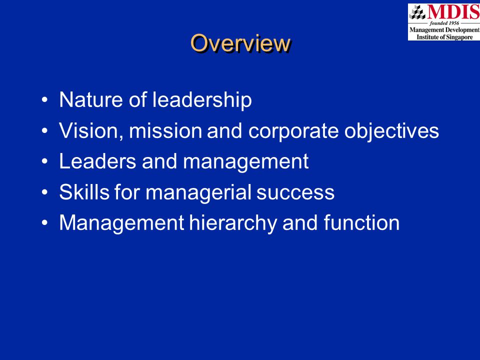 Objectives are guideposts by which managers define the organisation's desired performance in such areas as new product development, sales, customer service, growth, environmental and social responsibility, and employee satisfaction The mission statement identifies a company's overall goals, while objectives are more concrete ORGANISATION'S OBJECTIVES