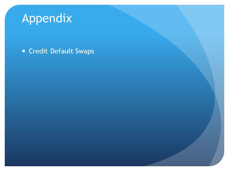 Appendix Credit Default Swaps