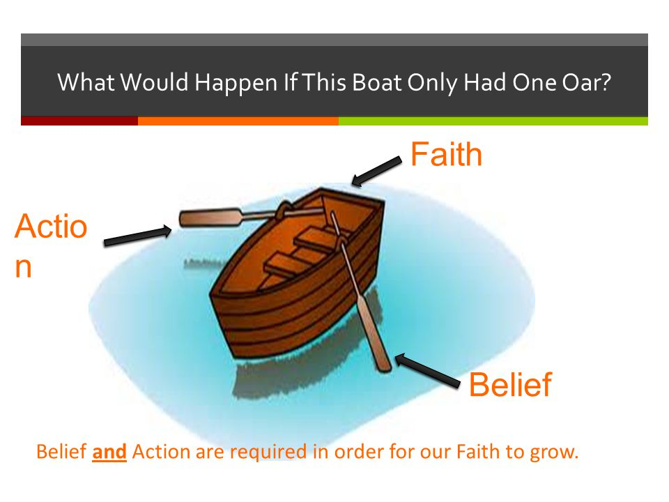 Principle of Action  Faith is a principle of action and power.