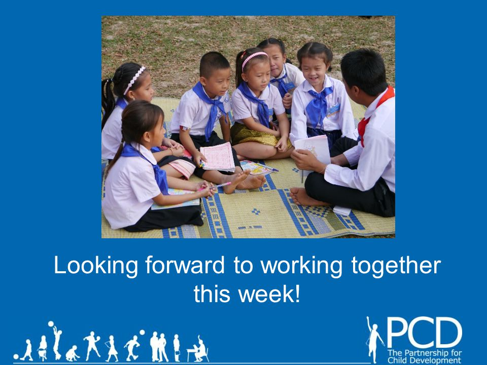 Looking forward to working together this week!