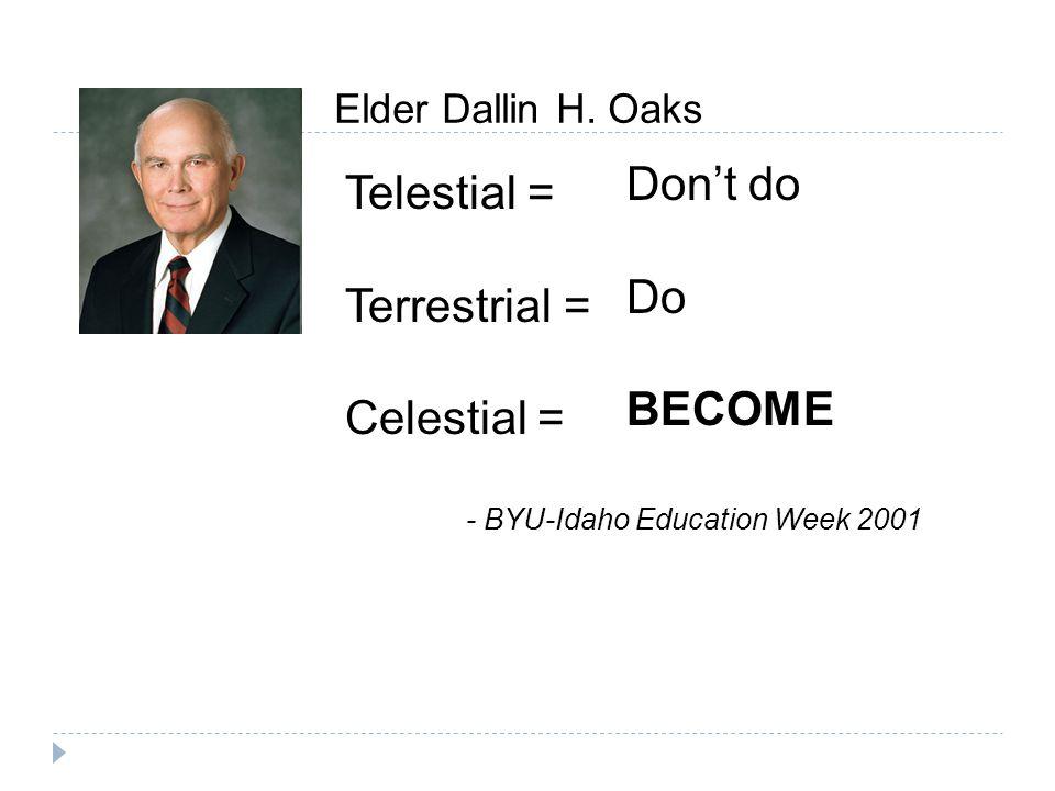 Elder Dallin H.