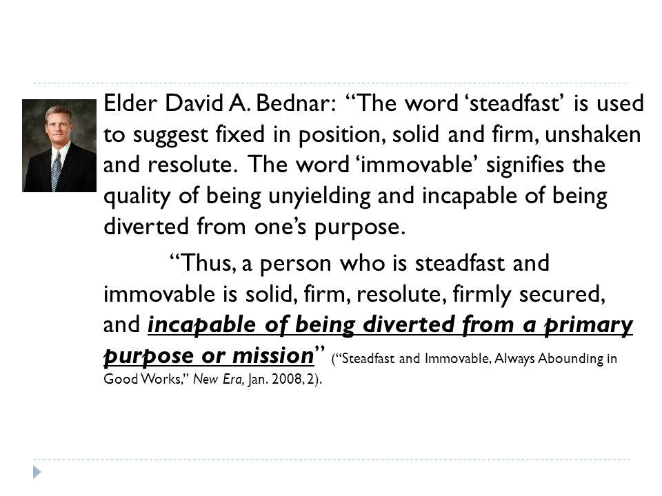 Elder David A.